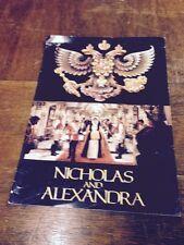 NICHOLAS & ALEXANDRS(1971)MICHAEL JAYSTON & JANET SUZMAN ORIGINAL MOVIE PROGRAM