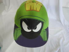 Looney Tunes Marvin the Martian Snapback Cap Hat OSFM Lime Green
