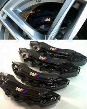 BMW 4x COVER COPRI PINZE FRENI NERO ANTERIORI & POSTERIORI LOOK M / M SPORT -2