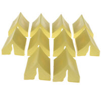Plastic Toy Soldiers Figures -10 PCS Military Model Kits -Tent Yellow