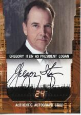 24 Twenty Four Season 5 SDCC08-A2 Autograph Card Gregory Itzin SD Comic Con