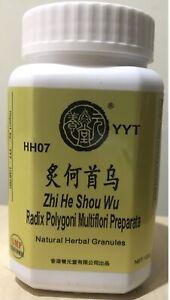 Natural Herb Granule: Zhi He Shou Wu, Radix Polygoni Preparata,100g
