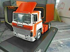 SCANIA LBT 141 weiss orange 1976 Zugmaschine Truck LKW Camion NEU IXO 1:43