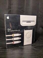 *BRAND NEW IN RETAIL PACKAGING* Apple iPod AV Connection Kit