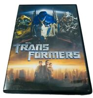 Transformers DVD 2007 Widescreen Michael Bay DreamWorks Pictures
