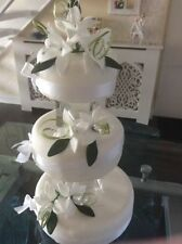 Unbranded White Cake Toppers