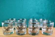 * Sportsman Wild Game Birds On The Rocks Glasses Tumblers Platinum Trim Federal