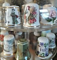 Huge Selection of Vintage Collectable Thimbles - You Choose! Multi-Buy Offer VGC