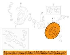 TOYOTA OEM Front Brake-Disc Rotor 4351220711