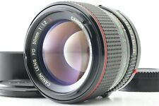 【EXC5 w/ Hood】 Canon New FD 50mm f1.2 L NFD Prime Lens From Japan #086