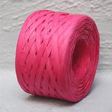 Paper Raffia Pink 4mm Wide 100 Metres