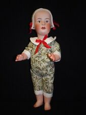 "91/2"" Artist Made Porcelain Christmas Heubach Baby Stuart"