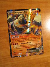 PL Pokemon REGIROCK EX Card FATES COLLIDE Set 43/124 XY X and Y Ultra Rare 180HP