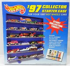 Hot Wheels 24 Car '97 Collector Starter Case Shelf Stand 1997 Series Complete