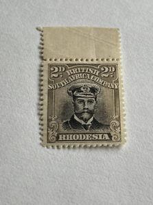 Rhodesia Admiral Marginal 2d Brown