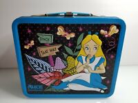 Disney Alice In Wonderland Embossed Tin Lunch Box By Loungefly (Rare)