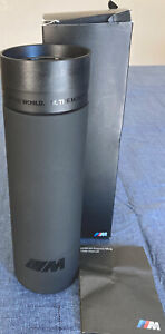 Brand New BMW Thermo Travel Coffee Mug with Box. 450 ml or 15.2 US Fluid Oz