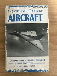 The Observers Book Of Aircraft 1952 - Fully Illustrated VINTAGE BOOK