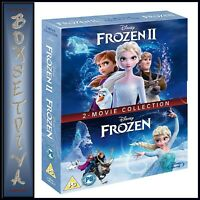 FROZEN  & FROZEN 2- DISNEY 2 FILM COLLECTION  *BRAND NEW BLU-RAY ** REGION FREE