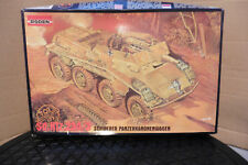 RODEN 1/72 GERMAN SD.KFZ.234/3 SCHWERER TANK MODEL KIT BOXED