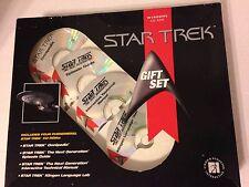 Star Trek Gift Set 4 CD-ROM Windows PC NIB Sealed Unopened