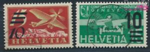 Switzerland 285-286 (complete issue) fine used / cancelled 1935 Print (8618677