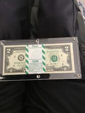 100 STAR NOTES $2 BILLS SERIES 2013 NEW YORK FEDERAL RESERVE BEP PACK