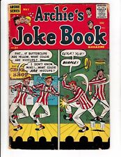 ARCHIE'S JOKE BOOK #34 (GD/VG) Early Silver-Age Comic Book 1958