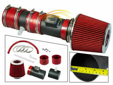 BCP RW RED For 12-17 Traverse Enclave Acadia 3.6L V6 Air Intake System +Filter
