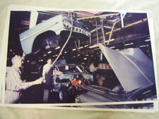 1959 CHEVROLET ASSEMBLY LINE  FRONT END DROP  11 X 17  PHOTO  PICTURE