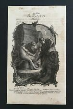 Icône Zeno HOLY CARD, SANTINO, engraving, gravure - 16,5x10cm