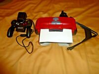 AS-IS Nintendo Virtual Boy Console Controller Battery Pack Bad Left Lense