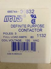 MARS 91632 CAPACITOR 60A 3P 120V