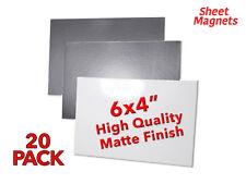 "6x4"" (150x100mm) Sheet Magnets | HQ Matte Photo Paper | 20 Pack | Ref.59173"