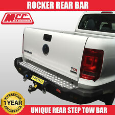 MCC4x4 022-01 Rear Rocker Bar To Suit Volkswagon Amarok - 2010 ON BEST DEAL