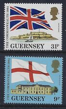 1984 GUERNSEY LINKS WITH THE COMMONWEALTH SET OF 2 FINE MINT MNH/MUH