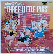 WALT DISNEY'S - THREE LITTLE PIGS / SPARKY'S..- CAPITOL / ZIV INTERNATIONAL - LP