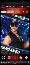 Topps WWE SLAM Digital 2017 Backlash Blue Base Fandango 750CC