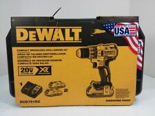 Dewalt DCD791D2 20V MAX Li-Ion 1/2 in. Brushless Drill Driver Kit SALE