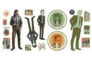 LOKI PEEL AND STICK WALL DECALS