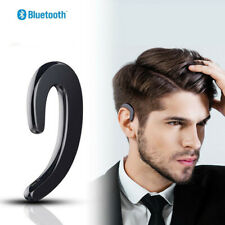 Bluetooth Earbud Noise Cancelling Ear-Hook Non Ear Plug Sport Headset for Phones