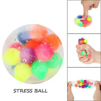 2PCS Set Squishy Sensory Stress Reliever Ball Toy Autism Squeeze Anxiety Fidget