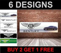 Bentley Logo Officina, Garage, Ufficio o Concessionario PVC Banner