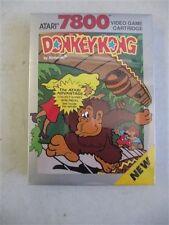 Donkey Kong for Atari 7800 New and SEALED w/ HANG TAB. 1998