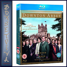 DOWNTON ABBEY - COMPLETE SERIES SEASON 4  *BRAND NEW  BLU-RAY *
