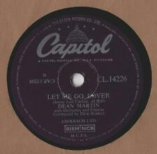 "Dean Martin - Let me Go Lover 10""Single 1955 / 78rpm"