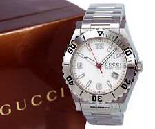 NEW Gucci 115 Pantheon Automatic Movement Stainless Steel Men's Watch YA115212