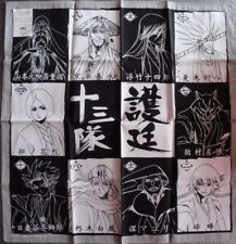 BLEACH SCARF / BANDANA 10 CAPTAINS / CAPITAINES BYAKUYA, KENPACHI ,SOI FON ETC
