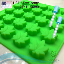 Leaf Silicone Mold For Candy Chocolate Gummy