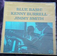 Blue Bash! Kenny Burrell & Jimmy Smith LP Verve V6-8553 Stereo